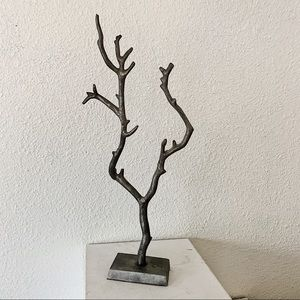 Urban Outfitters Accents - Urban Outfitters Silver Tree Branch Jewelry Holder